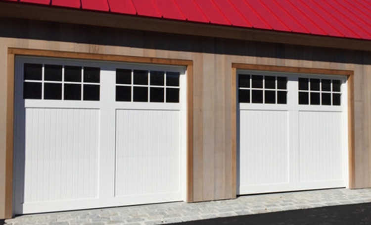Vinyl Garage Doors The Harbour Series Fagan Door