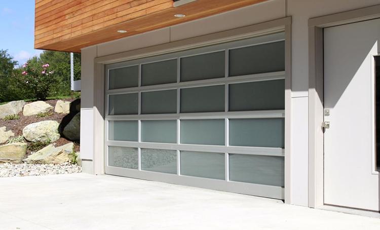 072e88eaf2d Glass Garage Doors - The Jade Series