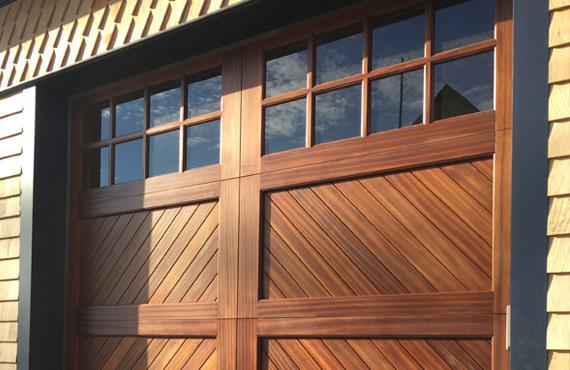 Timber Series Wood Garage Doors In