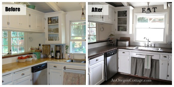 minor kitchen remodel