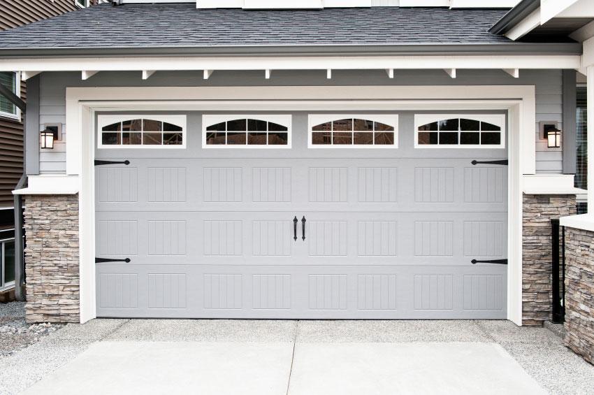 Light Gray Garage Doors