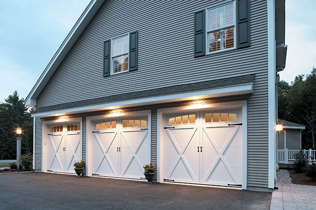 White Garage Doors 3
