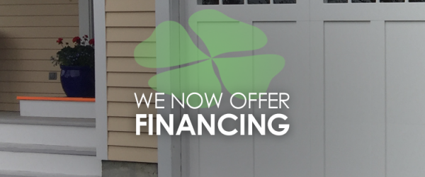 We now offer financing - Financing Available at Fagan Door!
