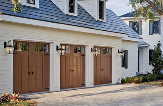 Superior Composite Wood Look Garage Doors. The Canyon Ridge Series